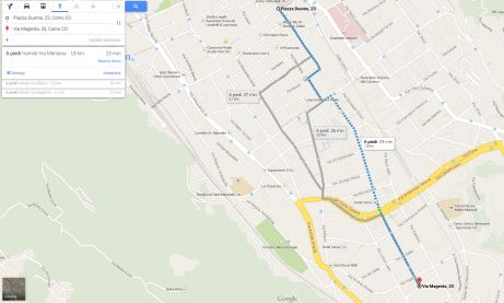 Piazza Duomo - Via Magenta