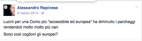 Post europei coglioni